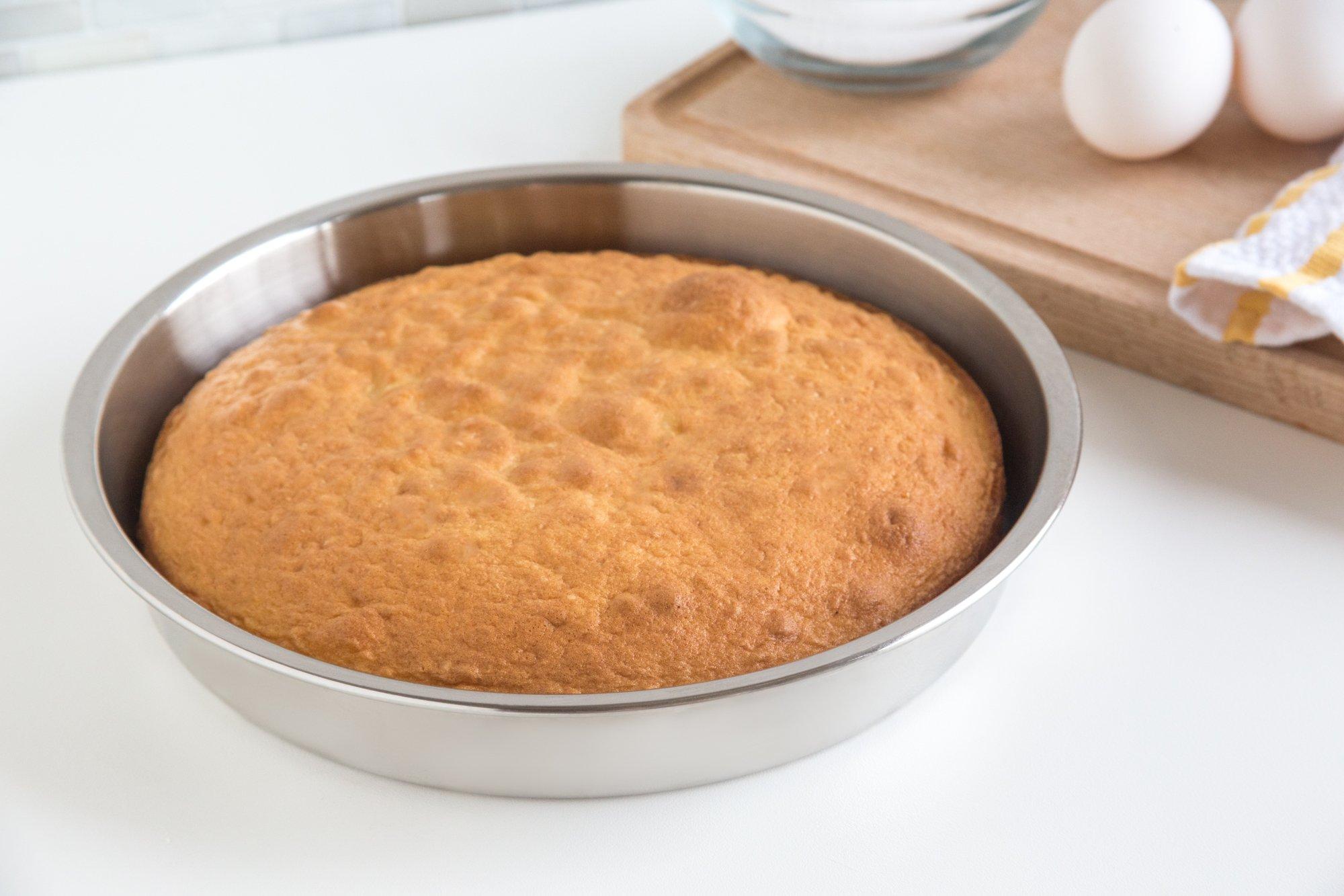 Fox Run 4865 Round Cake Pan, Stainless Steel by Fox Run (Image #4)