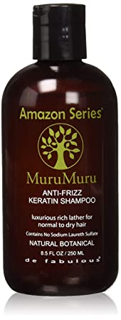 Amazon Series Murummuru Anti Frizz Keratin Shampoo, 250ml Shampoos (Beauty) at amazon