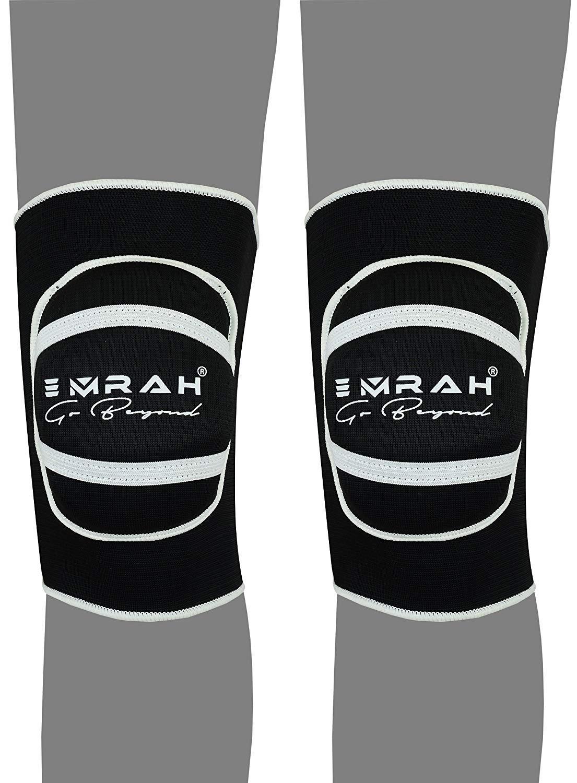 Ginocchiere con imbottitura in schiuma resistente e confortevole con cuscino protettore in gel EMRAH