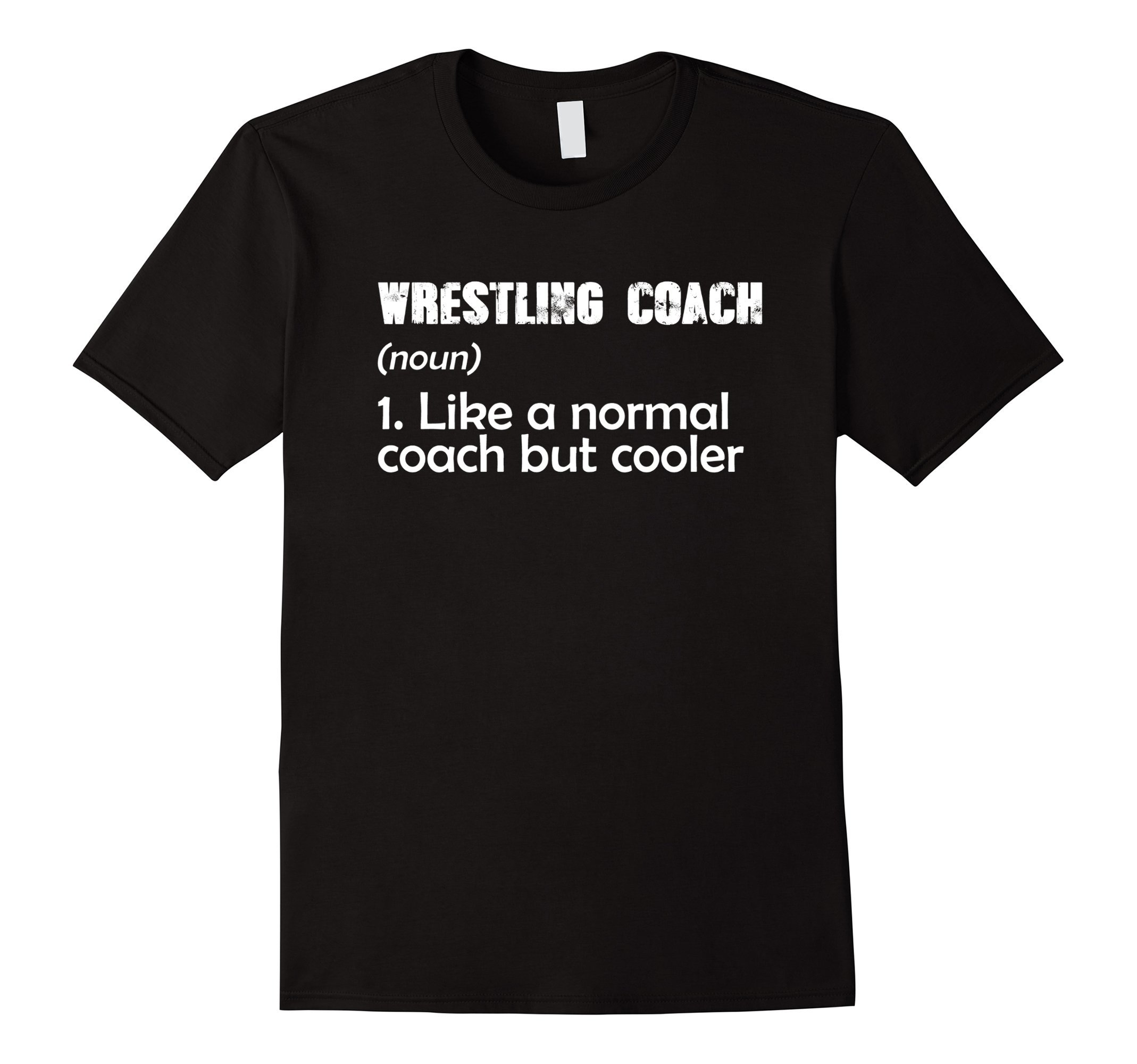 Wrestling Coach Funny Definition T-shirt Trainer