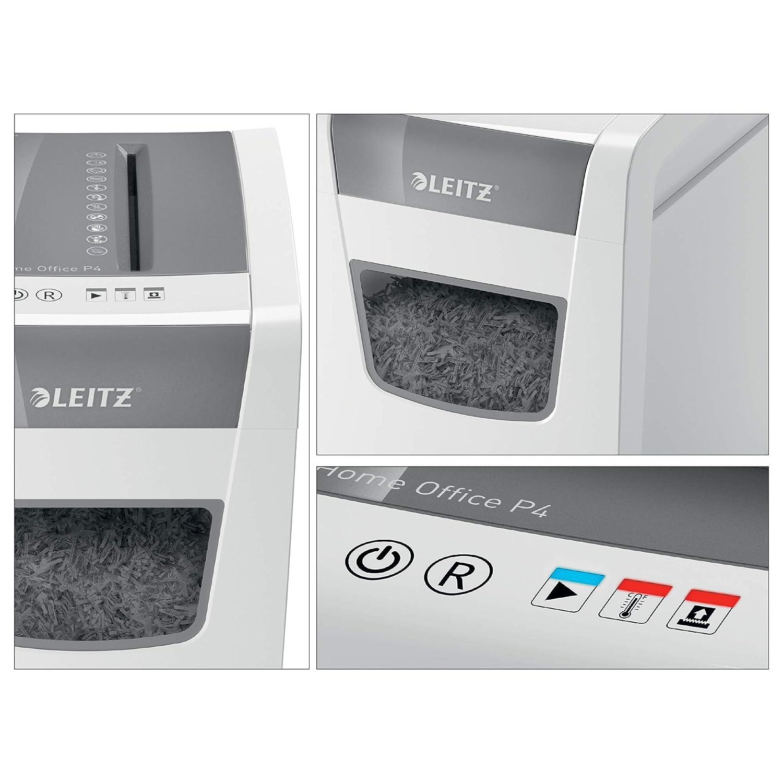 Leitz 80090000 IQ Home Office Aktenvernichter wei/ß /& Basics 24er-Pack Schmiermittelbl/ätter f/ür Aktenvernichter