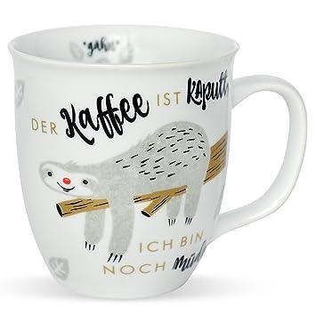H: PPYlife 45180 Tasse mit Faultier MotivDer Kaffee ist kaputt, ich ...