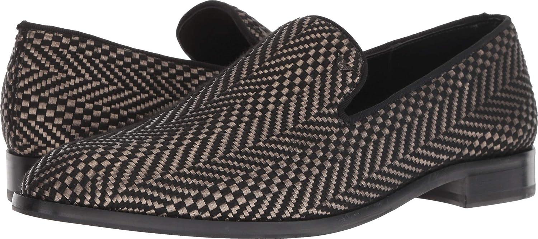 d7e9cbf587 Amazon.com   Emporio Armani Mens Indios Fabric Loafer   Loafers ...