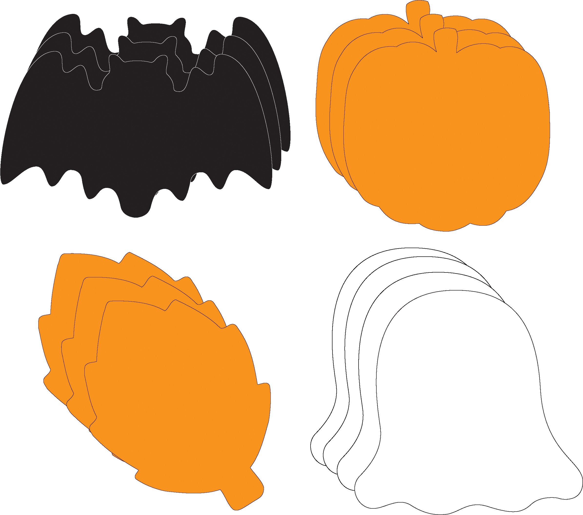 Halloween Large Cut-Out Set by Creative Shapes Etc.