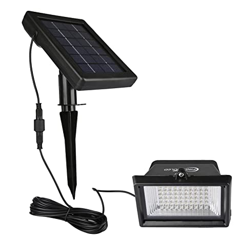 Amazon findyouled solar flood lights outdoor landscape findyouled solar flood lights outdoor landscape lighting 60led120lumen cast aluminium wall in aloadofball Images