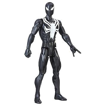 Spider-Man- Titan Traje Negro (Hasbro E2344ES0): Amazon.es ...