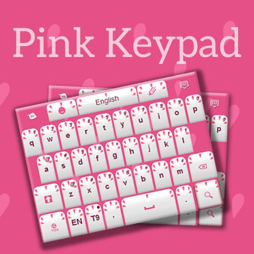 Keypad Skin Colors Pink