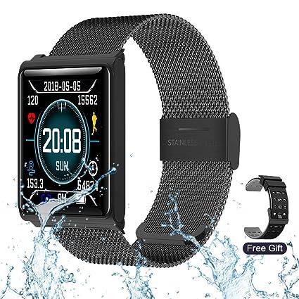 Amazon.com: Rastu - Reloj inteligente con monitor de ...