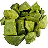 """Hypnotic Gems 1 lb Bulk Green Opal Rough from Madagascar - Large 1"""" Natural Raw Stones & Fountain Rocks for Tumbling, Cabbing, Polishing, Wire Wrapping, Wicca & Reiki Crystal Healing"""