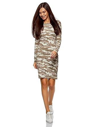 315d3a0c665 oodji Ultra Femme Robe Moulante en Maille  Amazon.fr  Vêtements et ...