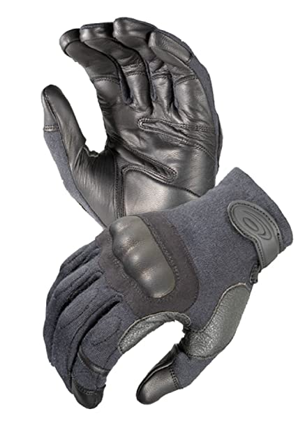Airsoft US Half Finger Army Military SWAT Police Hard Knuckle Handschuhe Gloves black  M Funsport