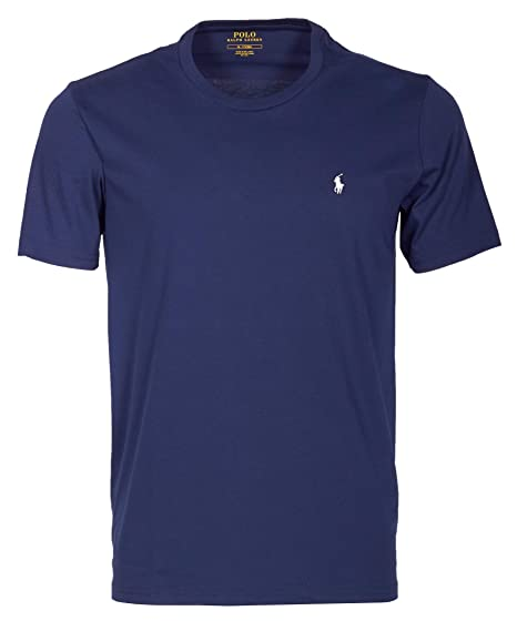 Polo Ralph Lauren | Hombres Camiseta de algodón Azul ...