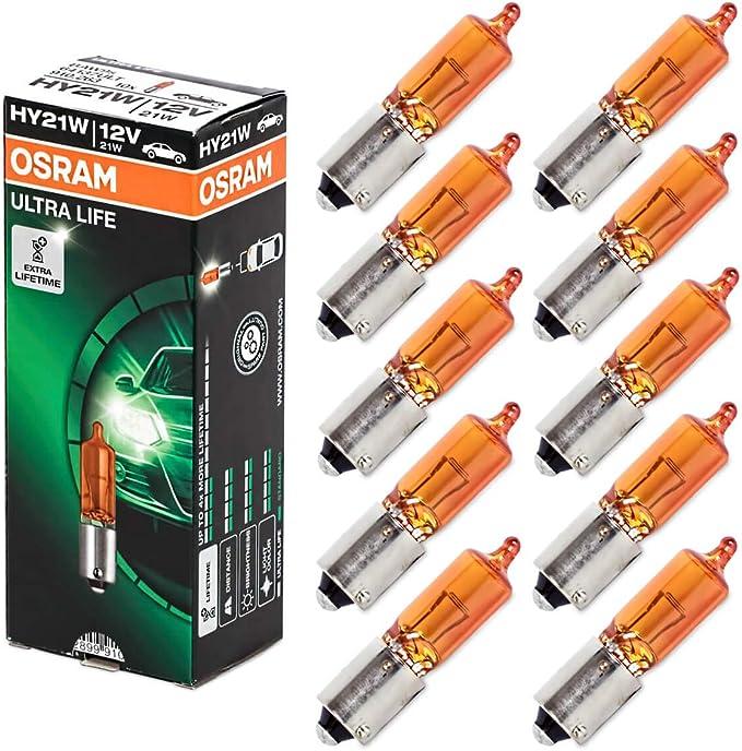 Osram 64137l Original Frontscheinwerfer Hy21w 12v Faltschachtel Anzahl 10 Auto