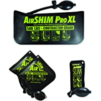 Calculated Industries 1132 AirShim Inflatable Pry Bars and Leveling Tools 4-pc Value Pack – 2 Original AirShims, 1…