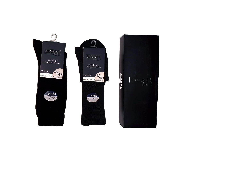 6 Calcetines hilo de escocia y sin puño scopri 42-43: Amazon.es: Ropa y accesorios