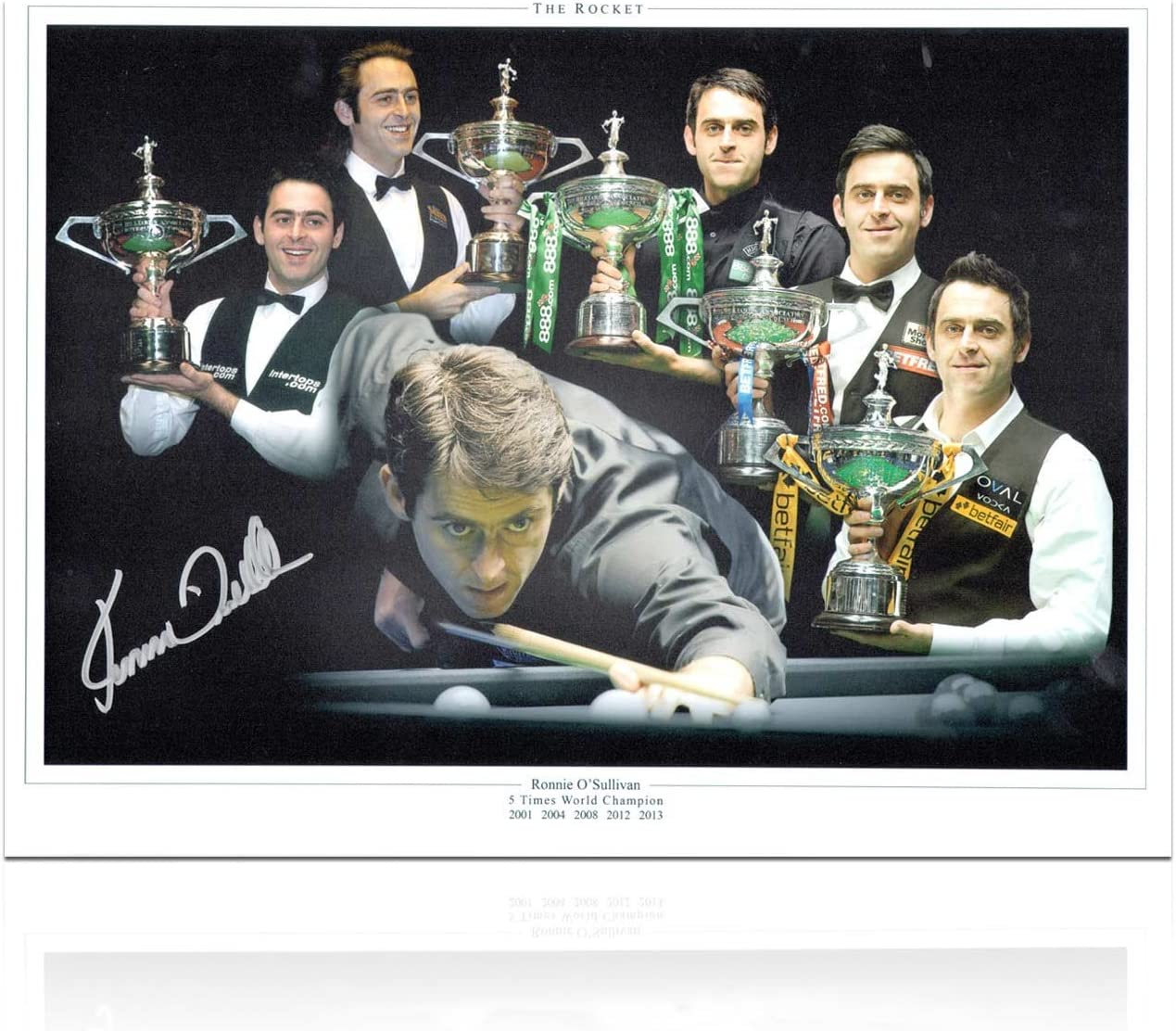 exclusivememorabilia.com Ronnie Osullivan Snooker Firmado Foto ...