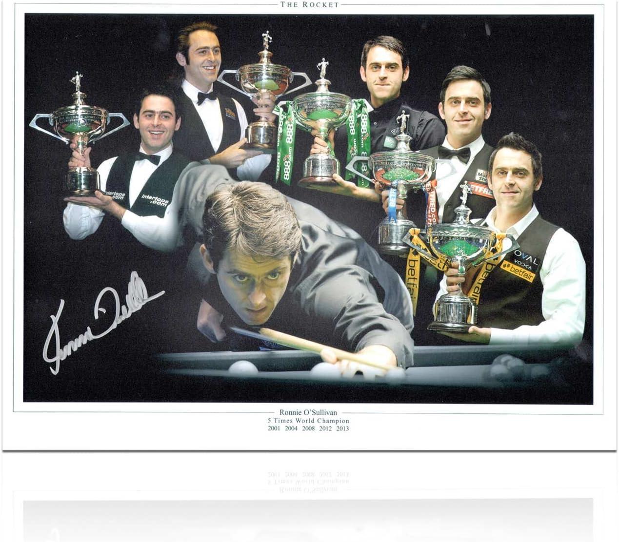 exclusivememorabilia.com Ronnie Osullivan Snooker Firmado Foto ...