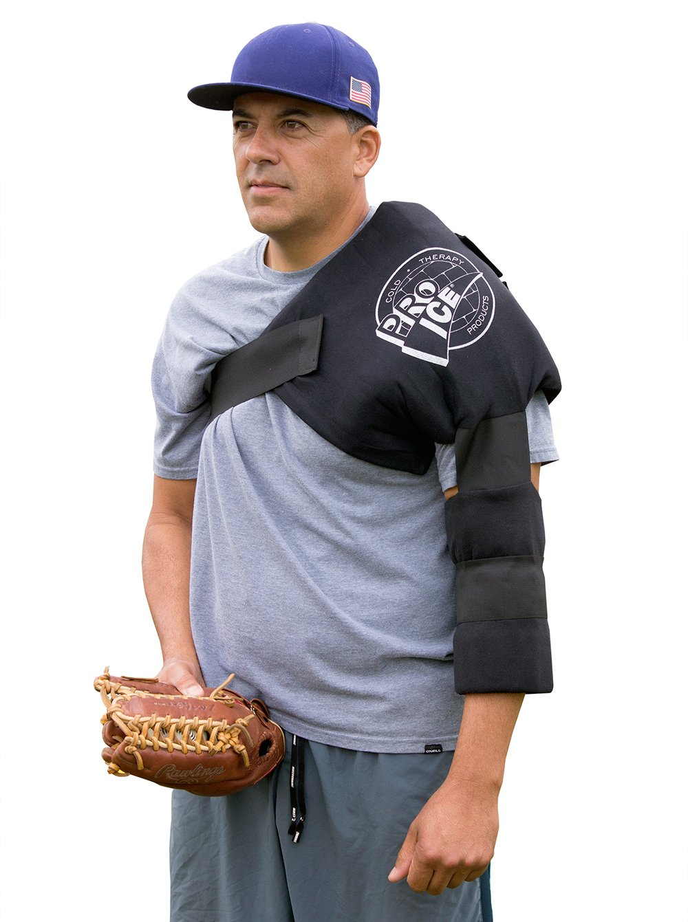 PRO ICE COLD THERAPY PRODUCTS Pro Ice Cold Therapy Wrap for Pro Shoulder Elbow PI240 to Treat Rotator Cuff Injury with Icing and Compression