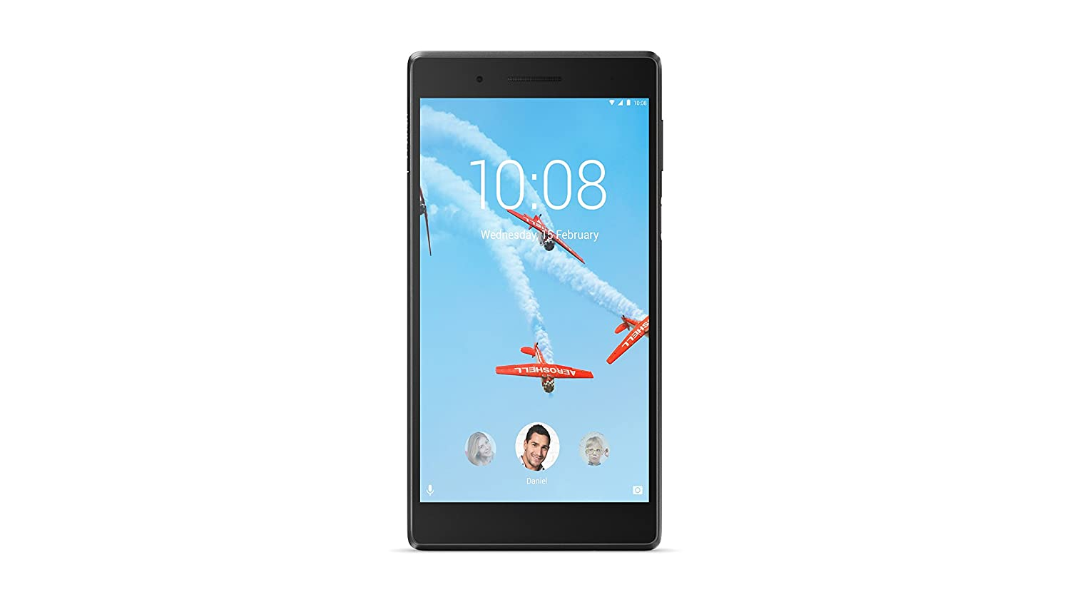 Lenovo Tab 7 Tablet (6 98 inch, 16GB, Wi-Fi + 4G LTE, Voice Calling) Black