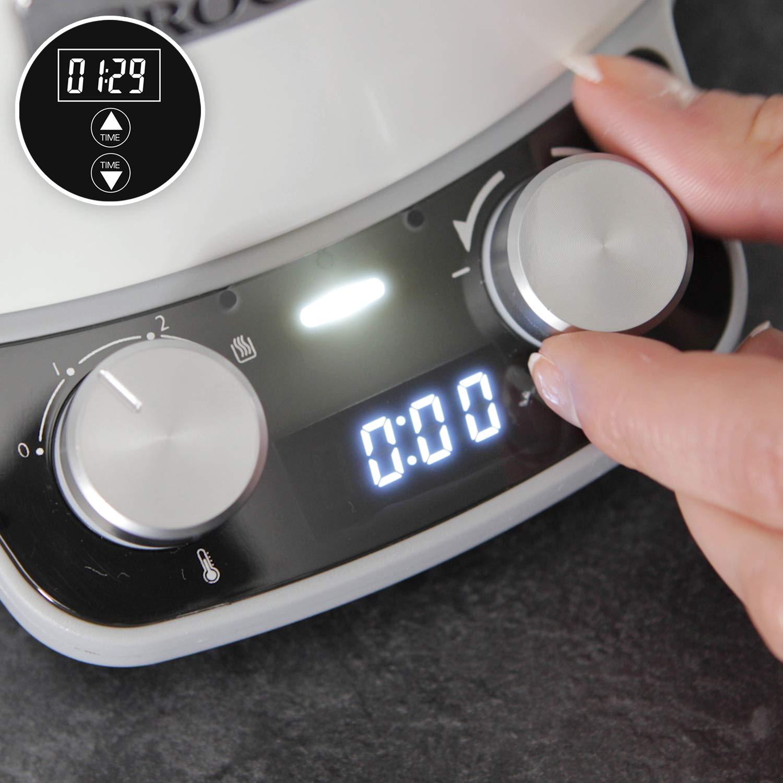 Crock-Pot Duraceramic CSC027X - Olla de cocción lenta digital, 6 L ...