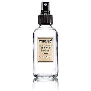evanhealy Heat of Summer HydroSoul Facial Toner | Hydrosols Organic Facial Tonic | Beauty Water Face Spray | Refreshing Skin Toner for Face | Alcohol Free Toner