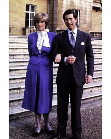 Prince Charles And Princess Diana On Their Engagement