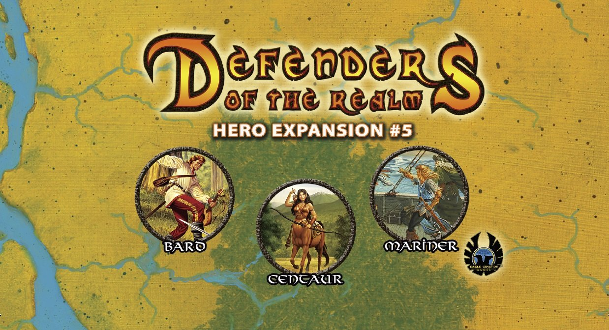 Defenders of the Realm - Hero Expansion #5