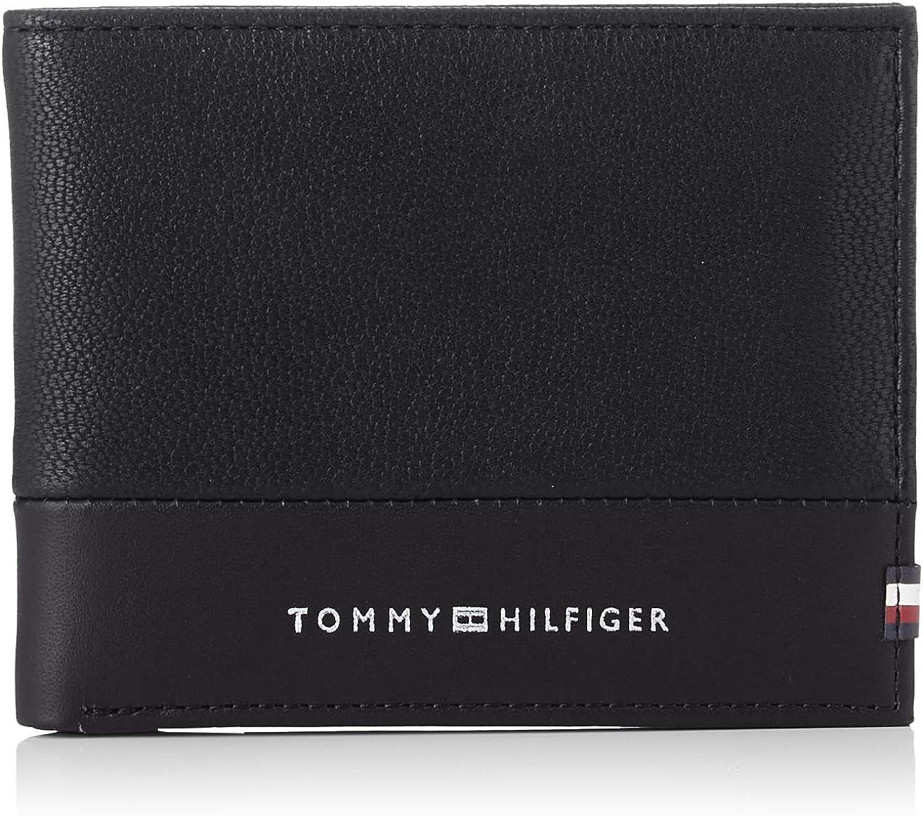 Tommy Hilfiger - Textured Mini CC Wallet, Carteras Hombre
