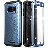 Custodia Galaxy S7 Edge, Clayco [Serie Hera] Custodia rigida a corpo pieno con protezione integrata dello schermo per Samsung Galaxy S7 Edge (versione 2016) (Nero)