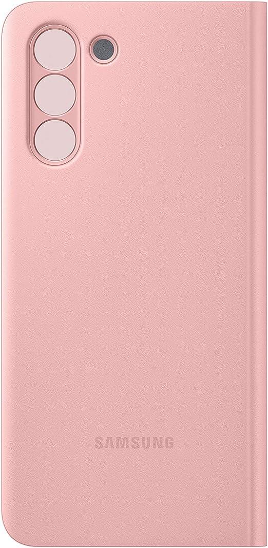 Samsung Clear View Cover Ef Zg991 Für Galaxy S21 5g Pink Elektronik