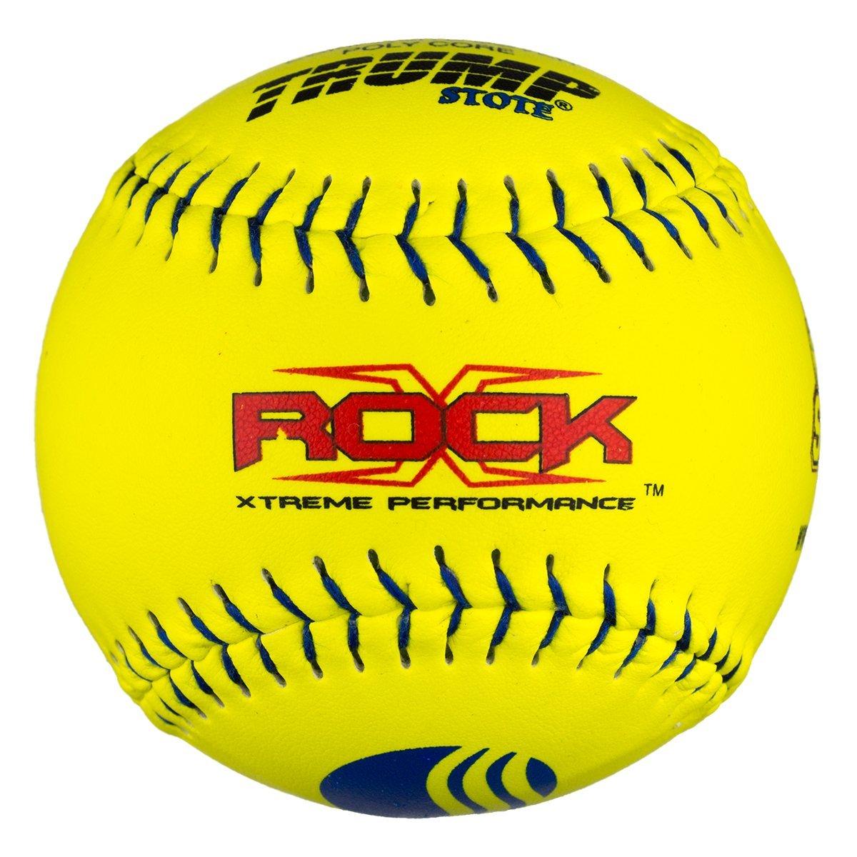 1 Dozen USSSA Classic M X-Rock 12'' Softballs - 40cor/.325 Compression (X-ROCK-CLAS-Y-2)