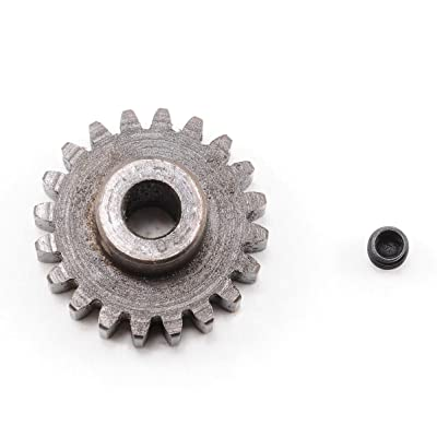 Robinson Racing 1220 Extra Hard High Carbon Steel Motor Pinion Gear, 5Mm Bore, 1.0 Mod Pitch, 20 Tooth: Toys & Games