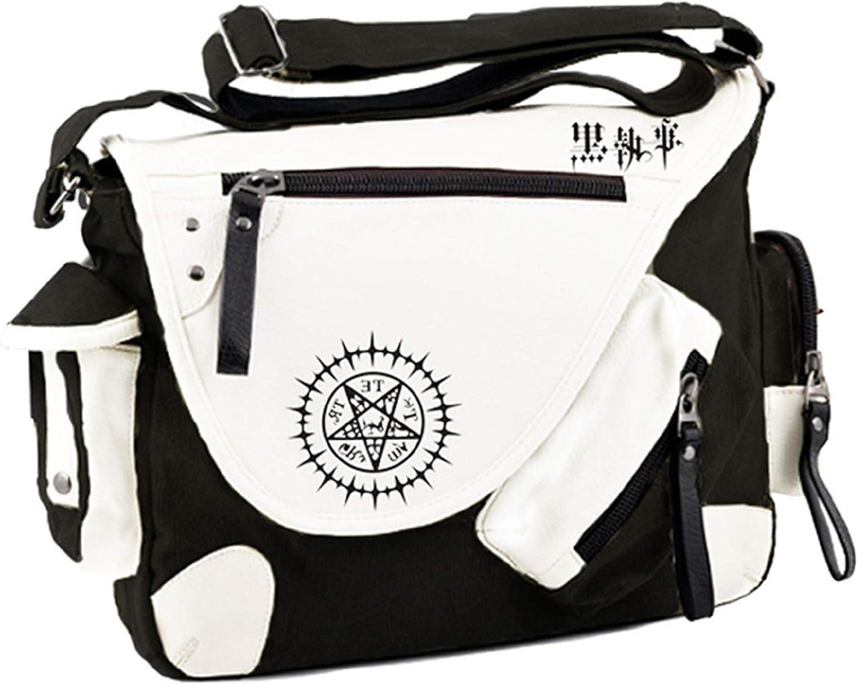 Siawasey Japanese Anime Cosplay Satchel Handbag Backpack Messenger Bag Shoulder Bag