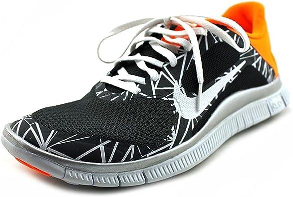Zapatillas para correr Nike Free 4.0 V3 Anthracite Flexible para hombre, tama?o 12: Amazon.es: Zapatos y complementos