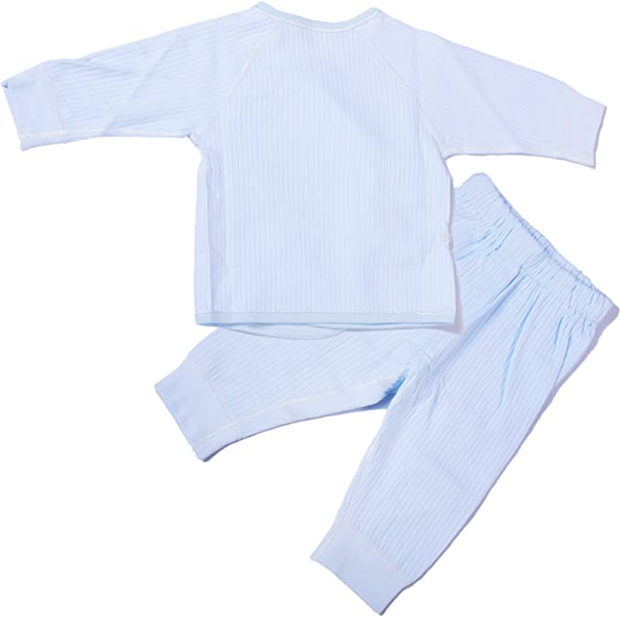 Xizhibao Boys and Girls Clothing Newborn Protection Abdominal Underwear Set 100/% Cotton Seamless Connection Pajamas.