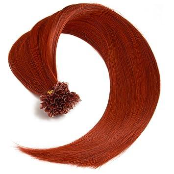 Kupfer Keratin Bonding Extensions 100 Remy Echthaar Human Hair