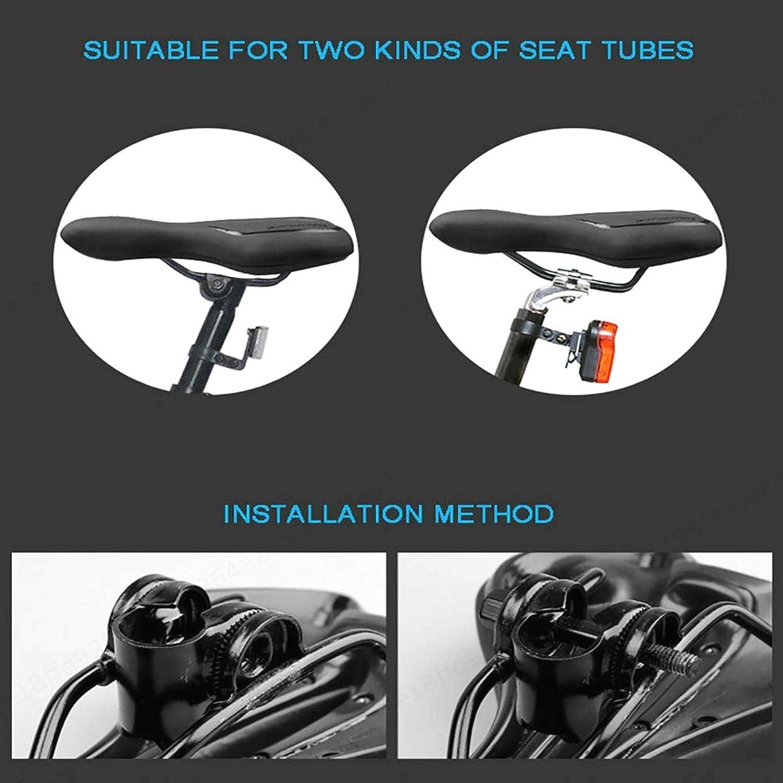 Sedile per Bicicletta Traspirante Comodo Sedile per Gel per Bicicletta ZXYAN Sella per Mountain Bike Impermeabile Antiscivolo Blu