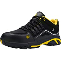 Zapatos de Seguridad Hombre,S1P SRC Zapatillas de Seguridad Antideslizantes con Punta de Acero Antipinchazos Calzados de…