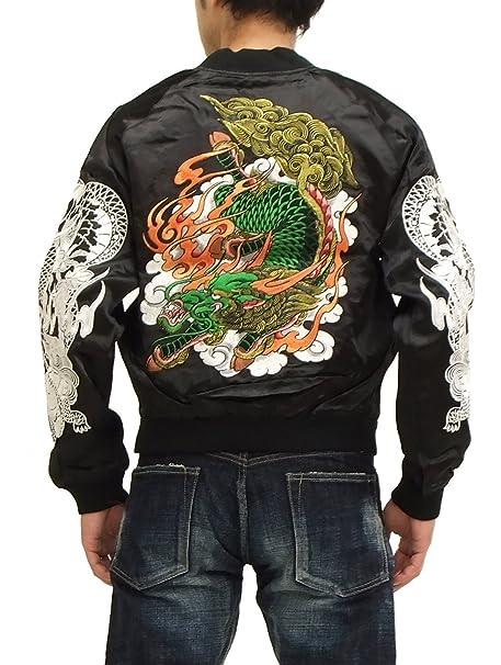 RYUOU Japonés Souvenir Chaqueta ttj-02 Dragon Tatoo Hombre ...
