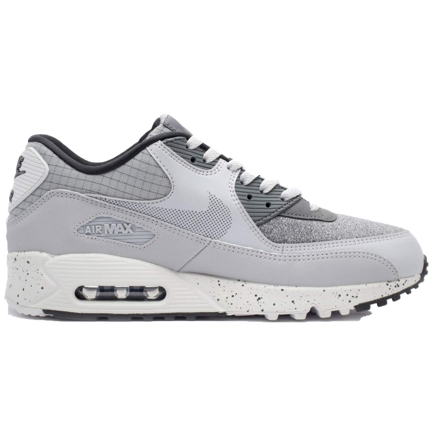 best loved 91586 4ac61 Galleon - NIKE Men s Air Max 90 Premium Wolf Grey Dark Grey-Black-Pure  Platinum 700155-016 (Size  7)