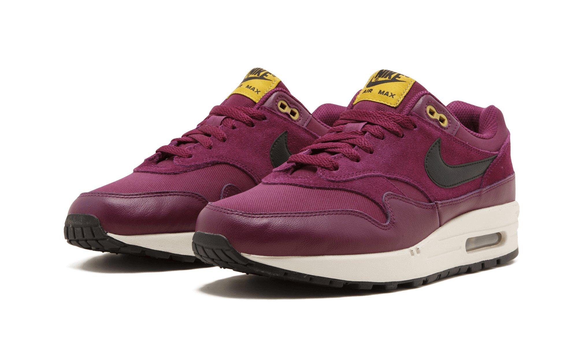 Galleon Nike Air Max 1 Premium Men's Shoes BordeauxDesert