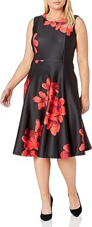 Calvin Klein Women's Plus Size Sleeveless Princess Seamed