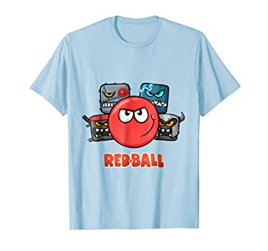 Mens Red Ball 4 - The Crew 2XL Baby Blue