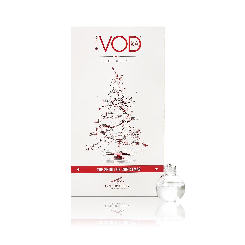 Lakes Vodka Baubles Gift Set (6 x 5cl) - Christmas Vodka Baubles ...