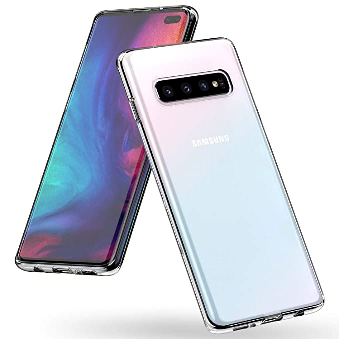 Syncwire - Carcasa para Samsung Galaxy S10 Plus, Samsung Galaxy S10 Plus, Color Amarillo
