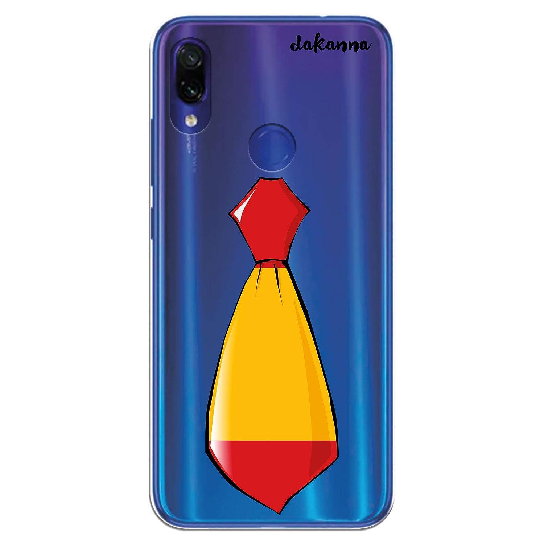dakanna Funda para Xiaomi Redmi Note 7 | Corbata Bandera España ...