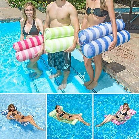 mlec Tech 1PC hamaca hinchable hamaca flotantes para piscina cama ...