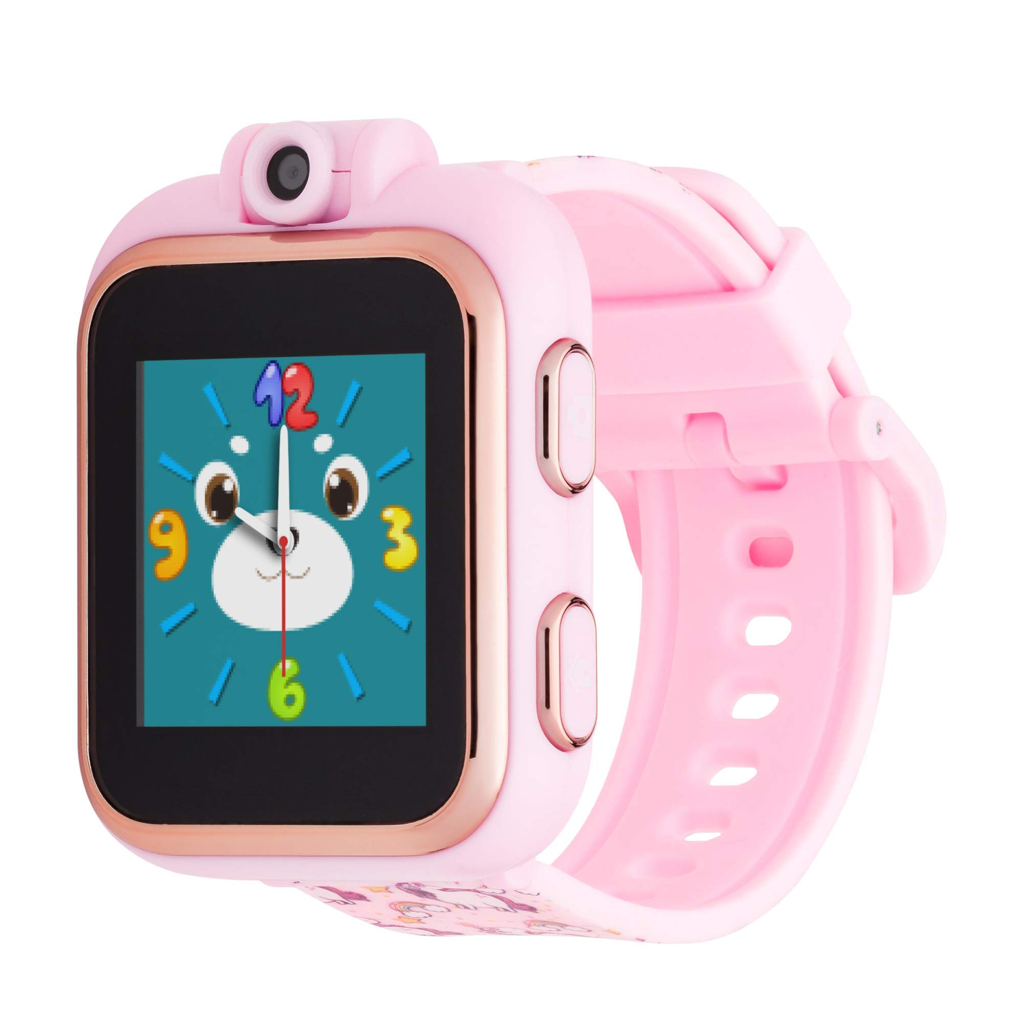 Playzoom iTouch Kids Smart Watch with Digital Camera and Video Recorder (Pink Unicorns) by    iTOUCH  (Image #1)