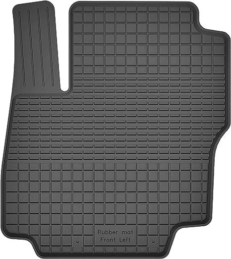 Ko Rubbermat 1 Stück Gummimatte Fußmatte Fahrer Geeignet Zur Ford Focus Iii Mk3 Bj 2010 2018 Ideal Angepasst Auto