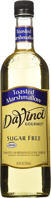 Da Vinci SUGAR FREE Toasted Marshmallow Syrup 750mL